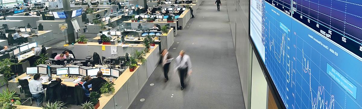 RWE Trading Floor Germany